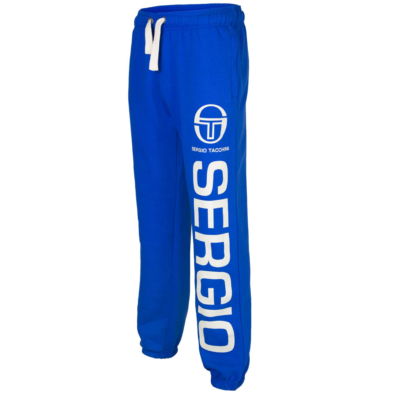 Sergio-Tacchini-Mens-Fleece-Tracksuit-Jogging-Bottoms-Sweatpants-New