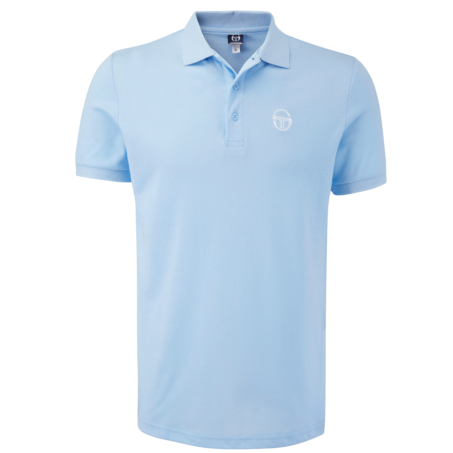 Sergio-Tacchini-Mens-Short-Sleeve-Polo-Shirt-T-Shirt-Top-Heigham-New