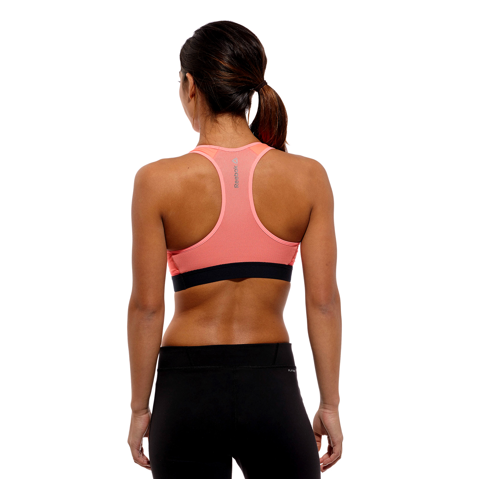 Reebok One Series Womens Padded Training Sports Bra ...
