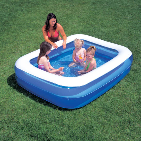 bestway small rectangular paddling pool ebay