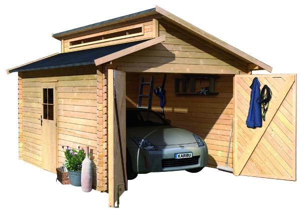 Garage mit carport aus holz  Garage Mit Carport Aus Holz | loopele.com
