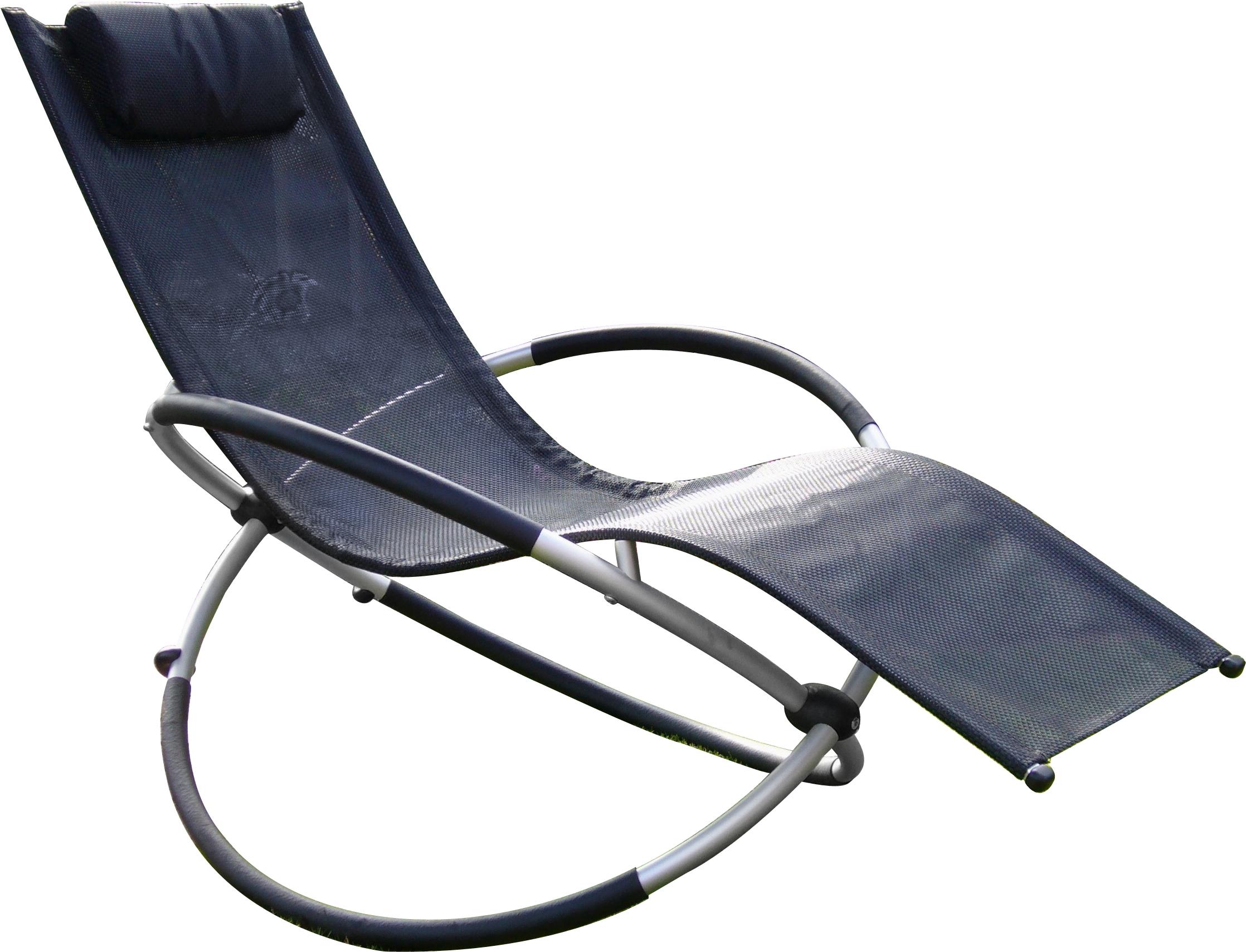 Leco schaukelstuhl versch farben liegestuhl for Schaukelstuhl terrasse