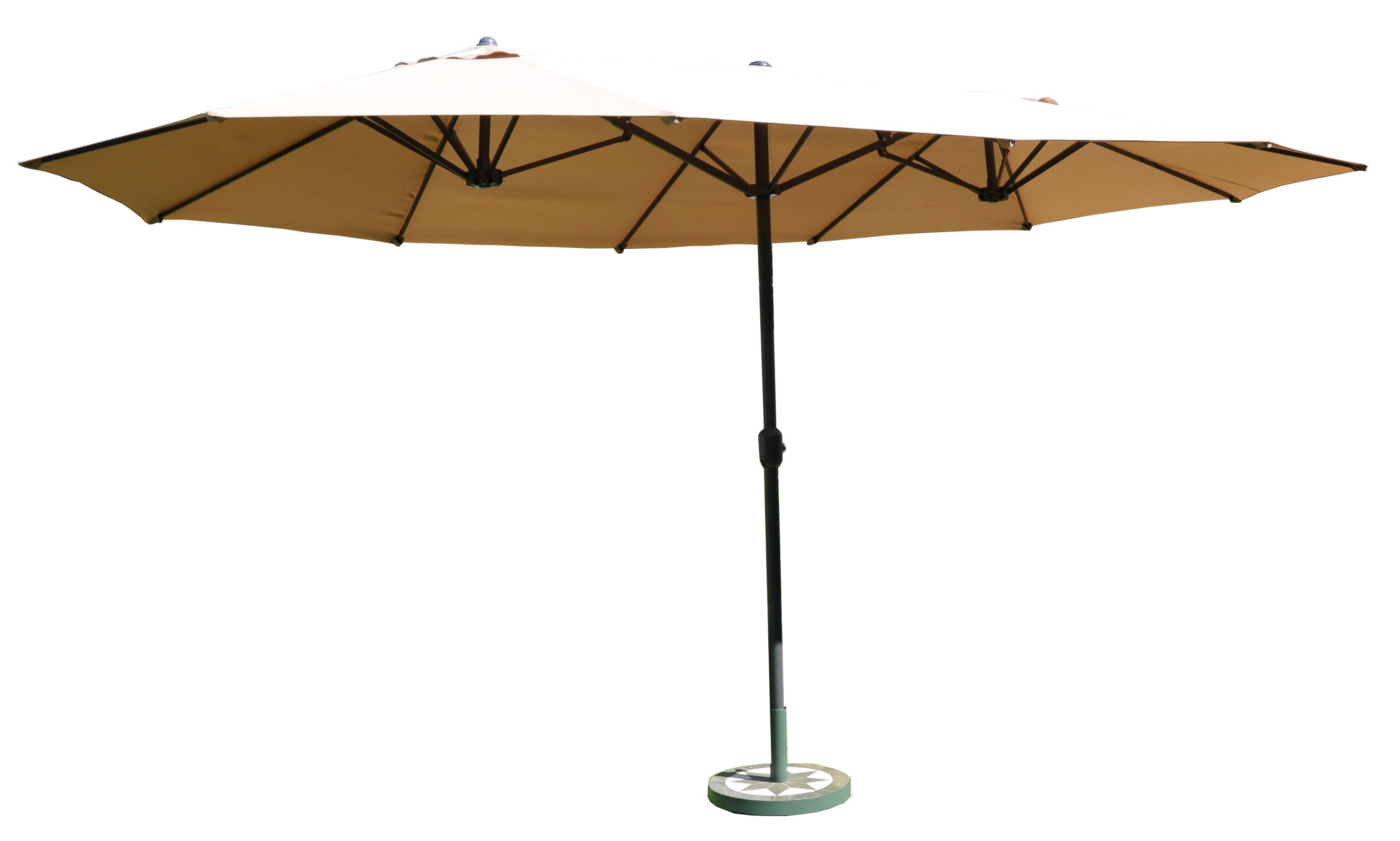 leco sonnenschirm versch farben oval sonnenschutz gartenschirm ebay. Black Bedroom Furniture Sets. Home Design Ideas