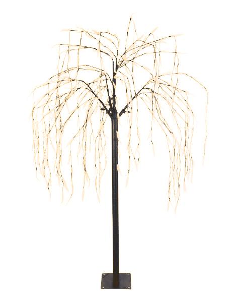 H s beleuchteter baum vers gr en christbaum for Beleuchteter tannenbaum