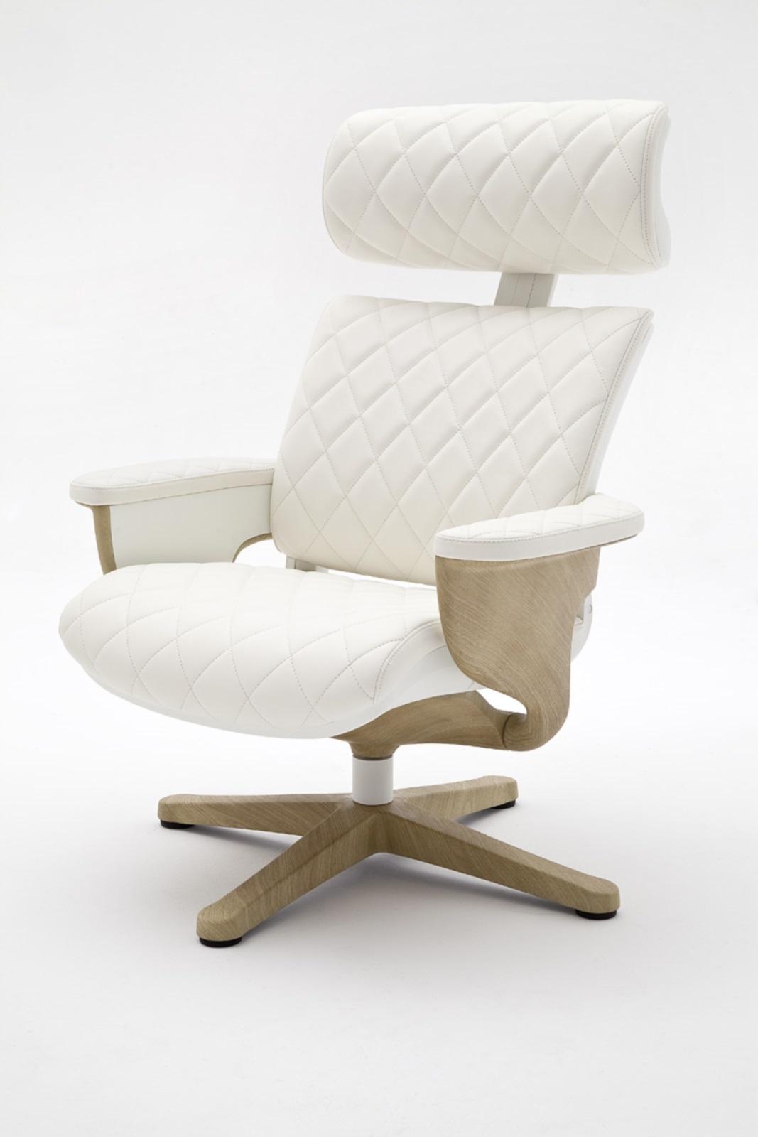 Relax sessel favorite mit hocker rindsleder relaxsessel for Sessel mit hocker leder