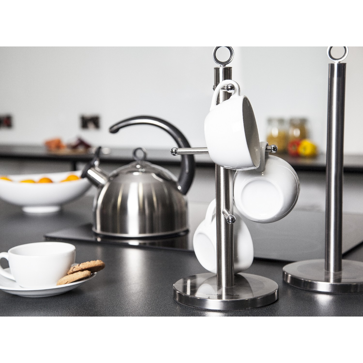 Morphy Richards Towel Pole: MORPHY RICAHRDS PAPER ROLL TOWEL POLE HOLDER KITCHEN STAND
