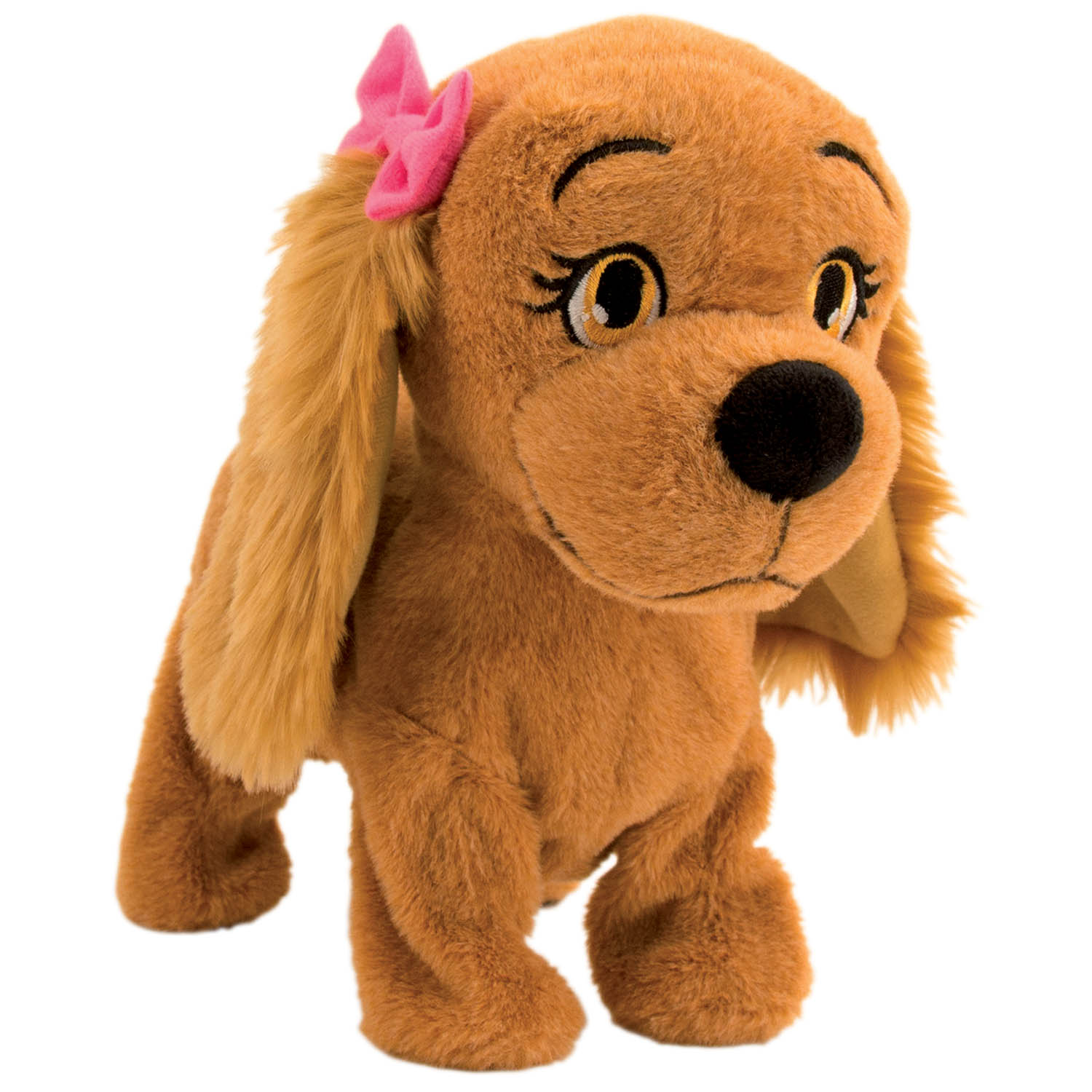 Lucy The Dog Kids Fun Interactive Toy Children Girls Soft Plush
