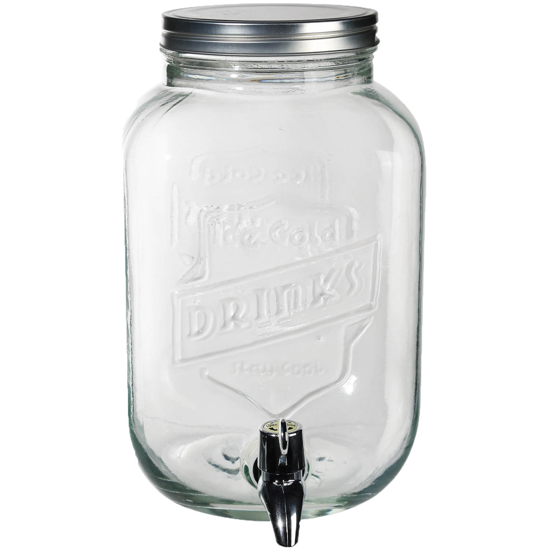 L Glass Juice Dispenser