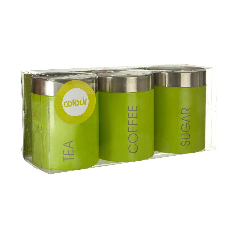 Liberty Set De 3 Thé Café Sucre Stockage Boîtes Pots pots containter Tins