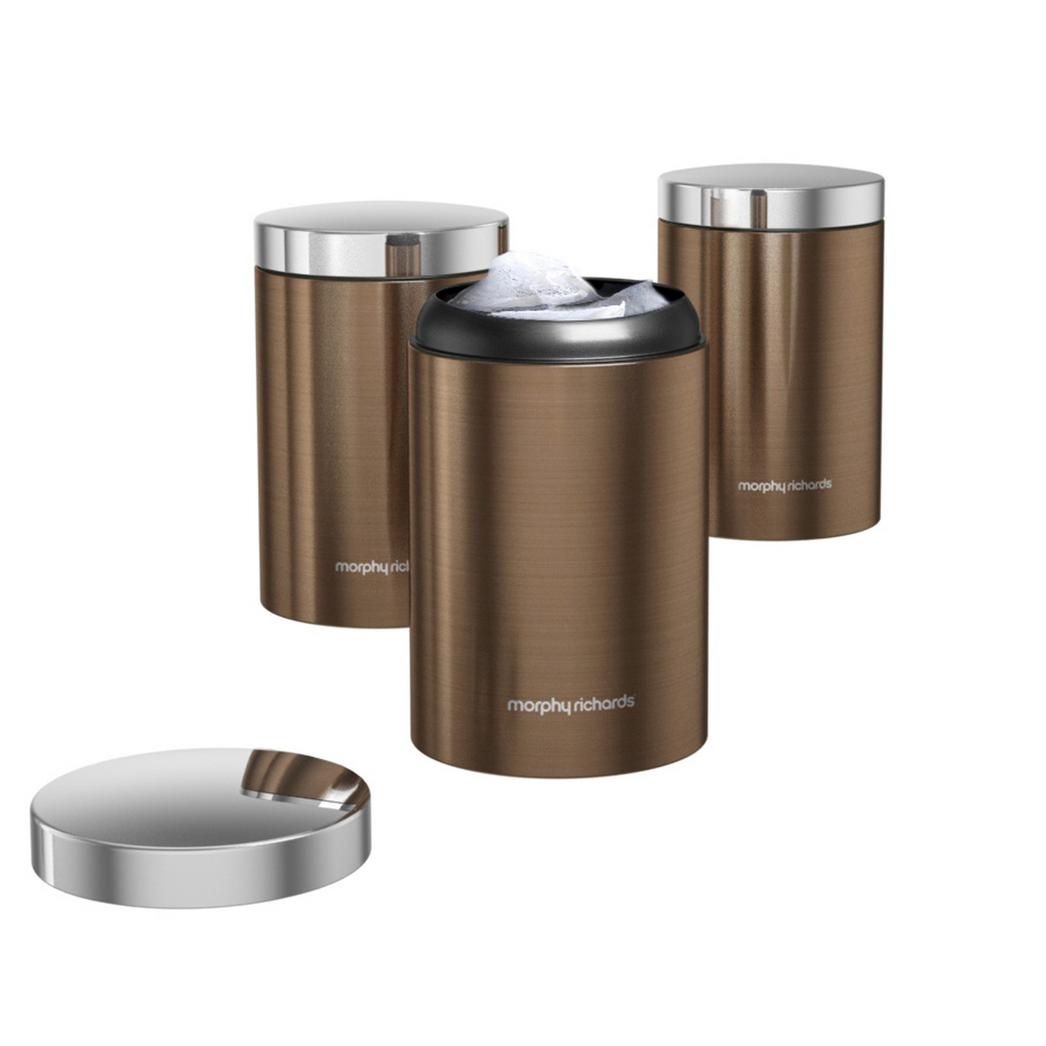 Kitchen Storage Canisters 6 Piece Bread Bin Tea Coffee Sugar Canisters Kitchen Storage Set
