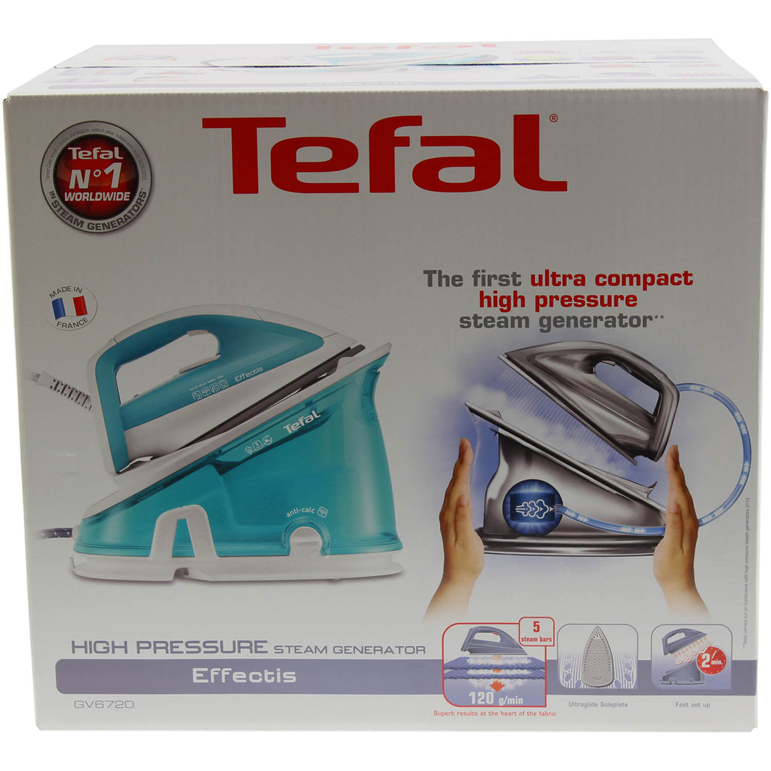 how to clean tefal steam generator iron