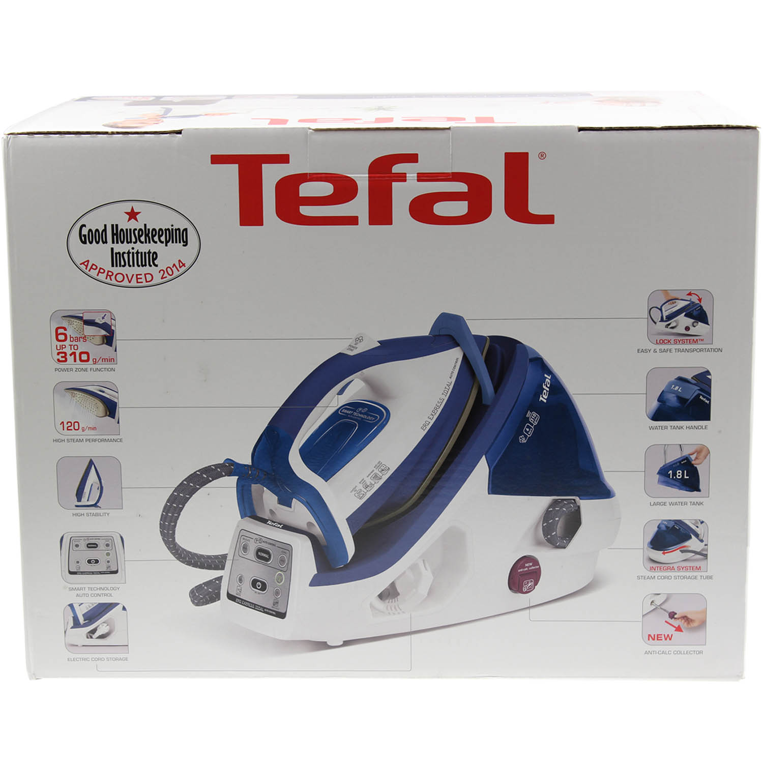 tefal pro express total auto control non stick variable. Black Bedroom Furniture Sets. Home Design Ideas