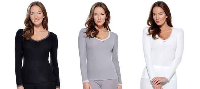 Charnos Cocoon long sleeve tops for your comfort heaven