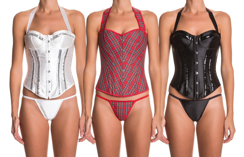 Intimax halterneck corsets