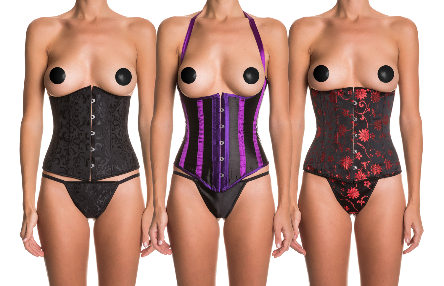 Sexy underbust corsets for a Merry Christmas