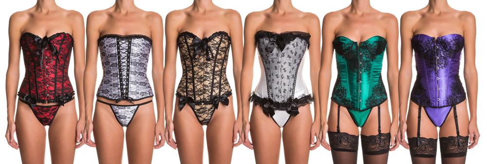 Intimax Lace corsets are beautiful