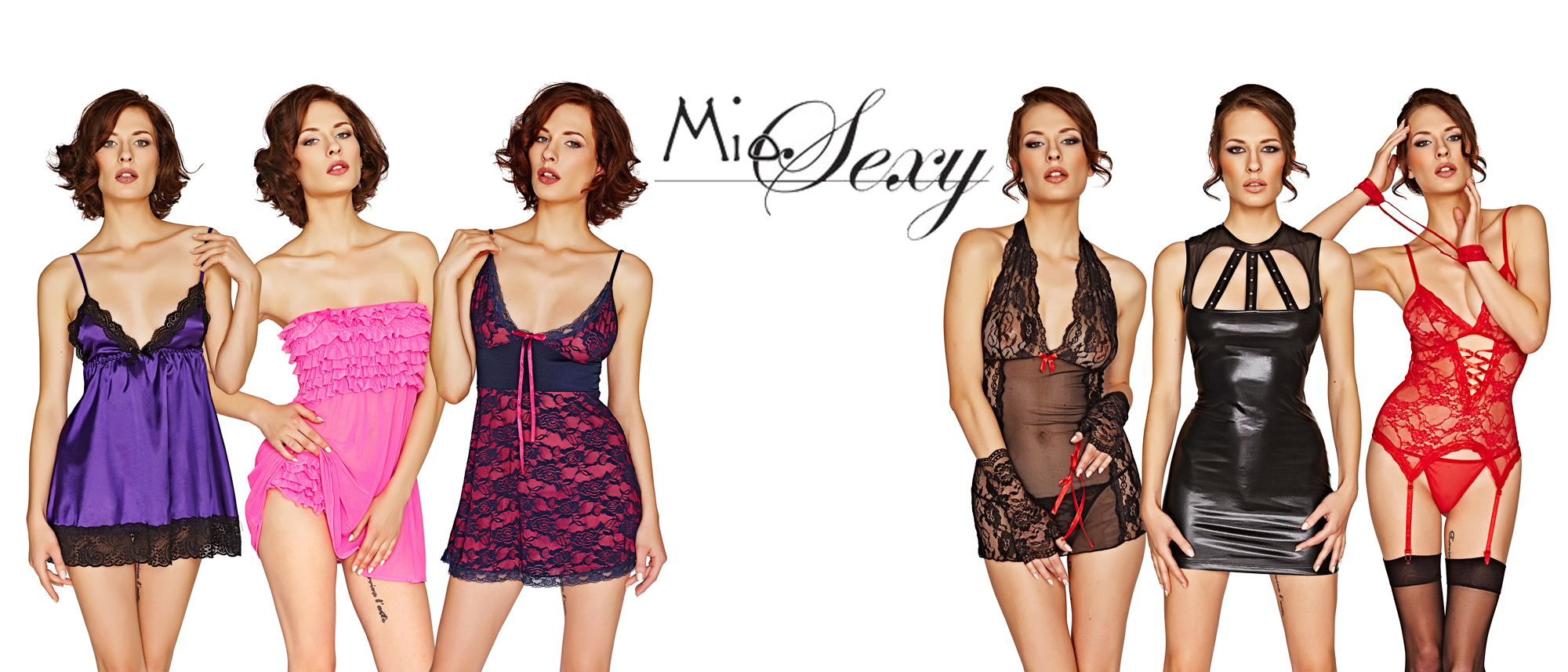 get sexy with our gorgeous exclusive range