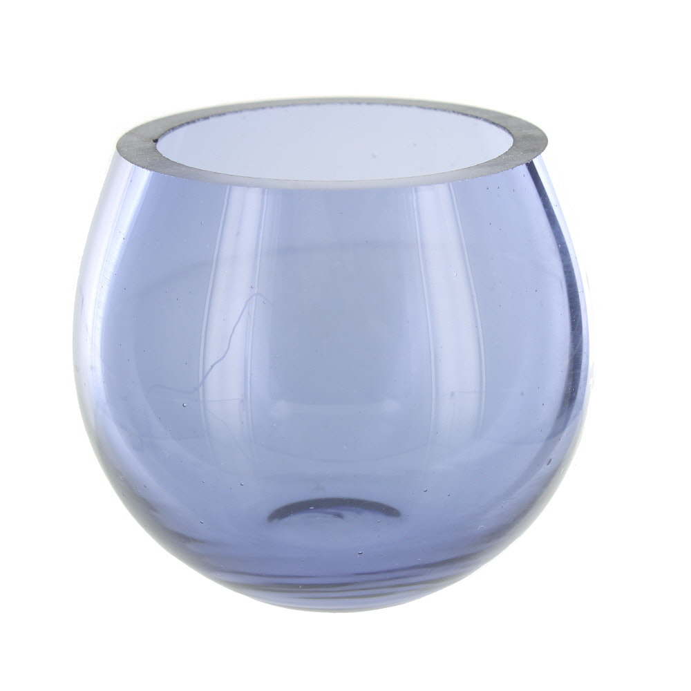 mauve glass tea light holder ebay. Black Bedroom Furniture Sets. Home Design Ideas
