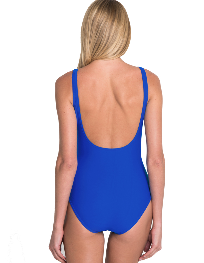 seaspray just plain maillot de bain gainant bonnets souples bleu roi 36 2092 54 fr 24 uk. Black Bedroom Furniture Sets. Home Design Ideas
