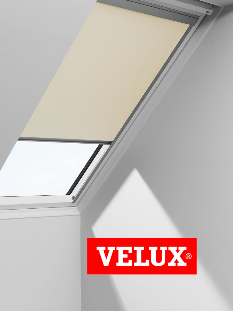 genuine velux blackout blind quality roof window roller essentials darks ebay. Black Bedroom Furniture Sets. Home Design Ideas