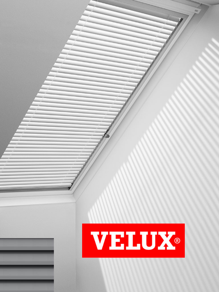 originelle velux jalousetten f r velux dachfenster in vielen farben ebay. Black Bedroom Furniture Sets. Home Design Ideas