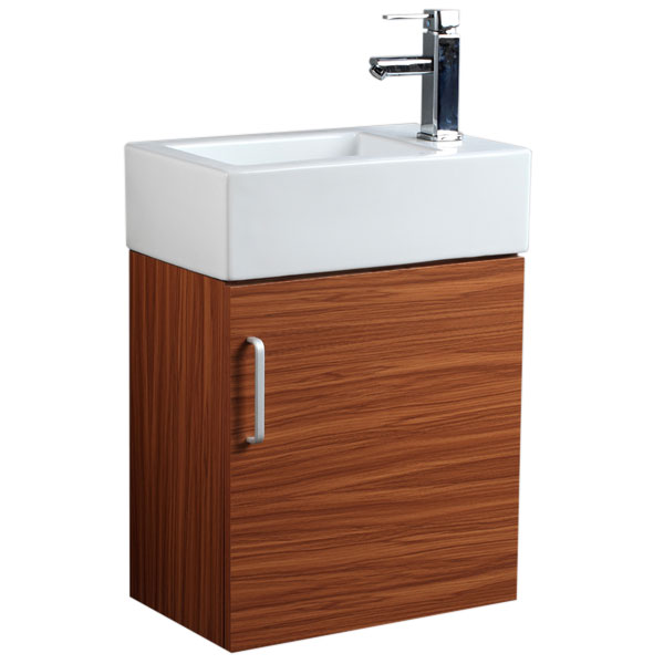 Wall Hung Cloakroom Basin Unit : ... CABINET BASIN SINK WALL HUNG CLOAKROOM VANITY UNIT STORAGE eBay