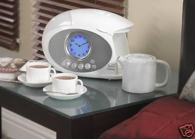 Swan Coffee Maker Alarm Clock : Swan Teasmade STM200N Tea Coffee Maker Alarm Clock eBay