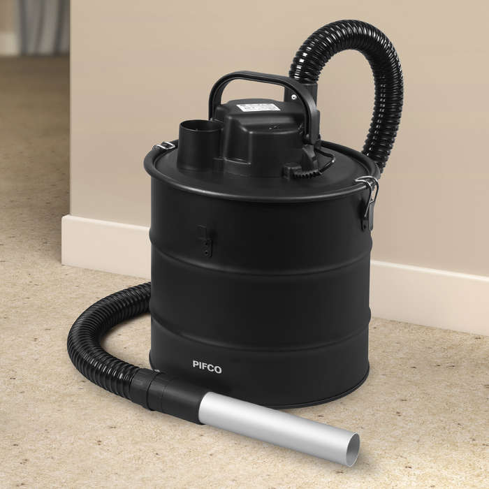 pifco electric ash vac vacuum cleaner cleaning log burners