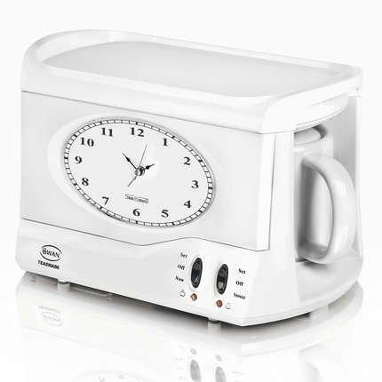 Swan Coffee Maker Alarm Clock : SWAN VINTAGE TEASMADE STM101N TEA COFFEE MAKER ALARM CLOCK STM101 eBay
