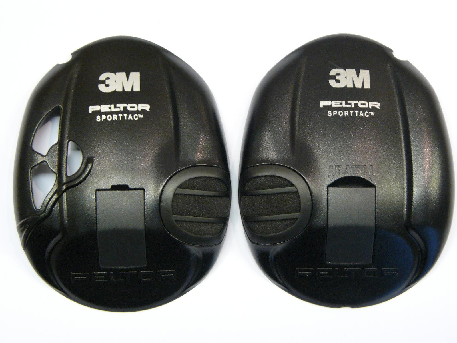 peltor sporttac spare replacement cup cover pairs