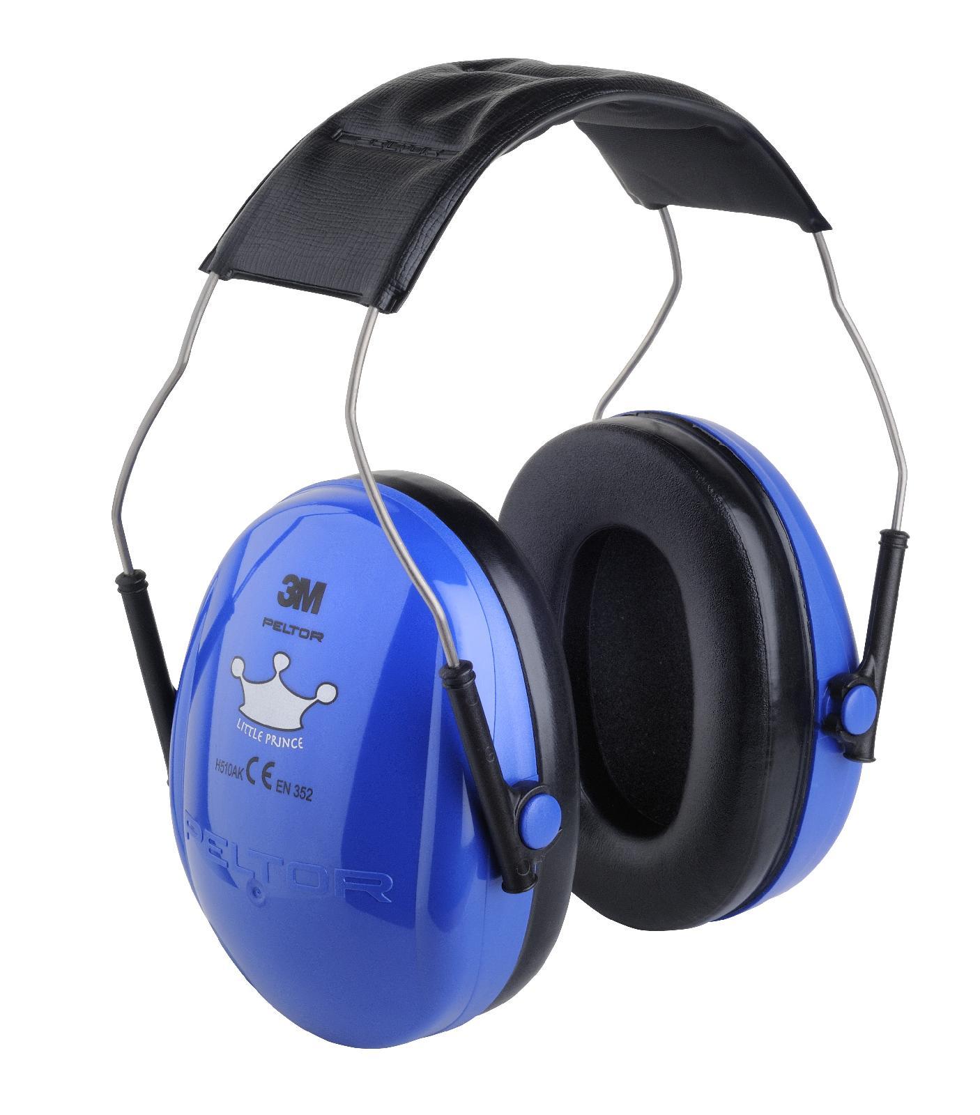 3m peltor optime kid little prince blue children ear muffs. Black Bedroom Furniture Sets. Home Design Ideas