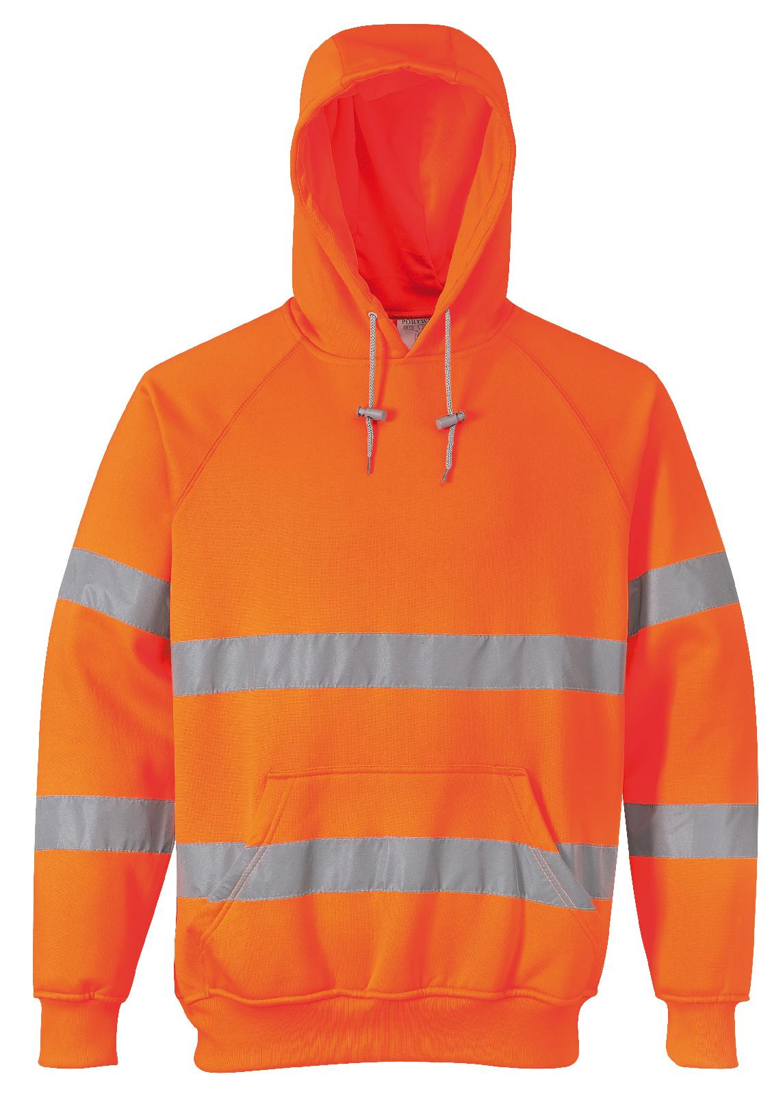 High visibility hoodie