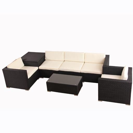 Evre Rattan Furniture Set For In Outdoors Table