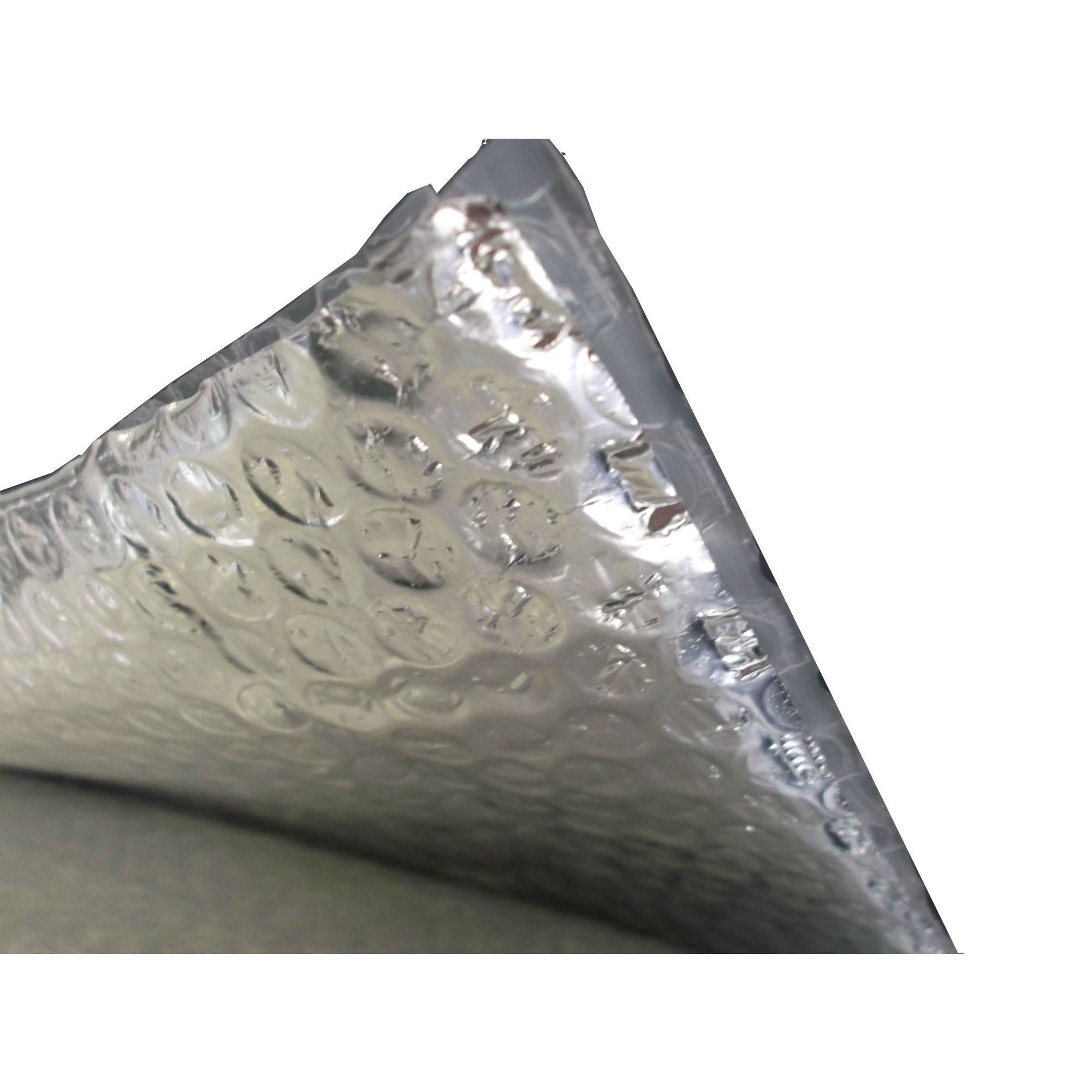 Yuzet 6 rolls single aluminium bubble insulation foil loft roof attic thermal ebay - Attic thermal insulation ...