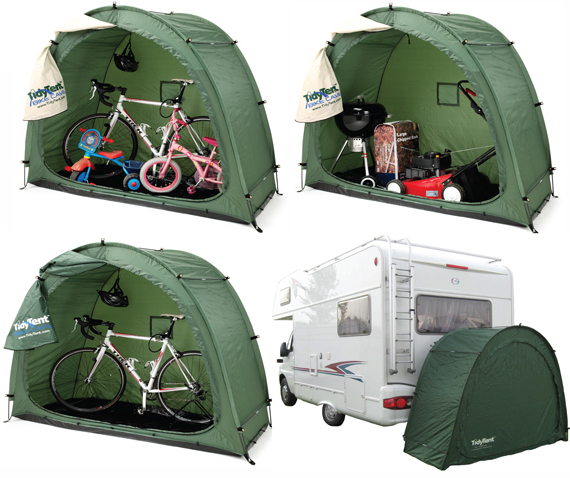 Bike Tidy Tent Bicycle Garden Storage Cover Bikecave Tidytent Shed
