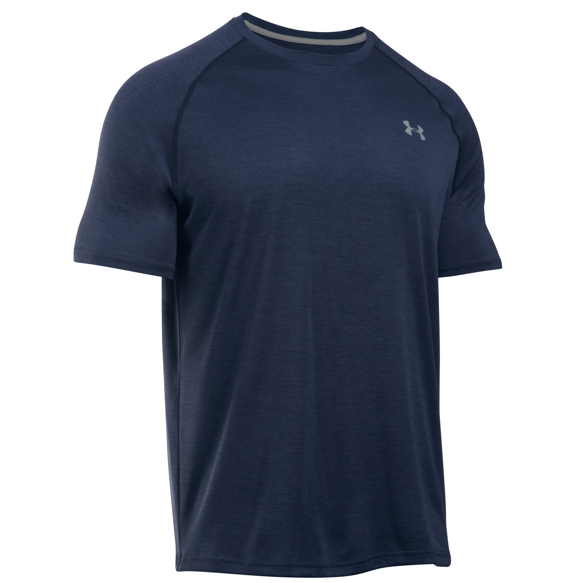 Under armour mens tech short sleeve t shirt tee ebay for Mens under armour shirts