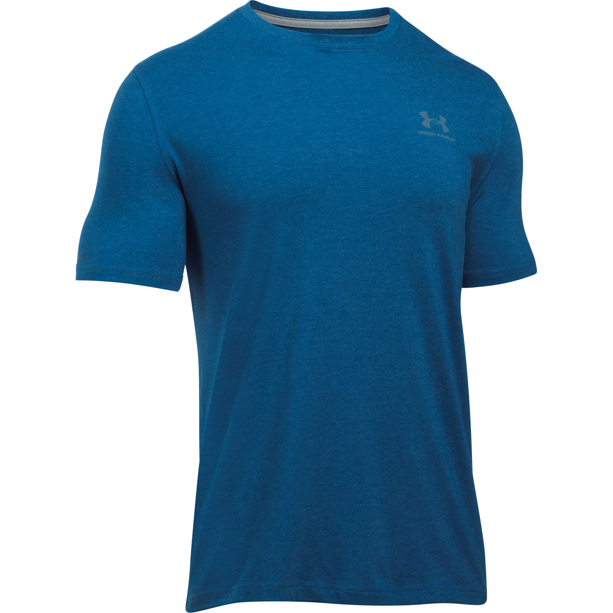 Under Armour Charged Cotton Mens Logo Shirt Tee Ebay