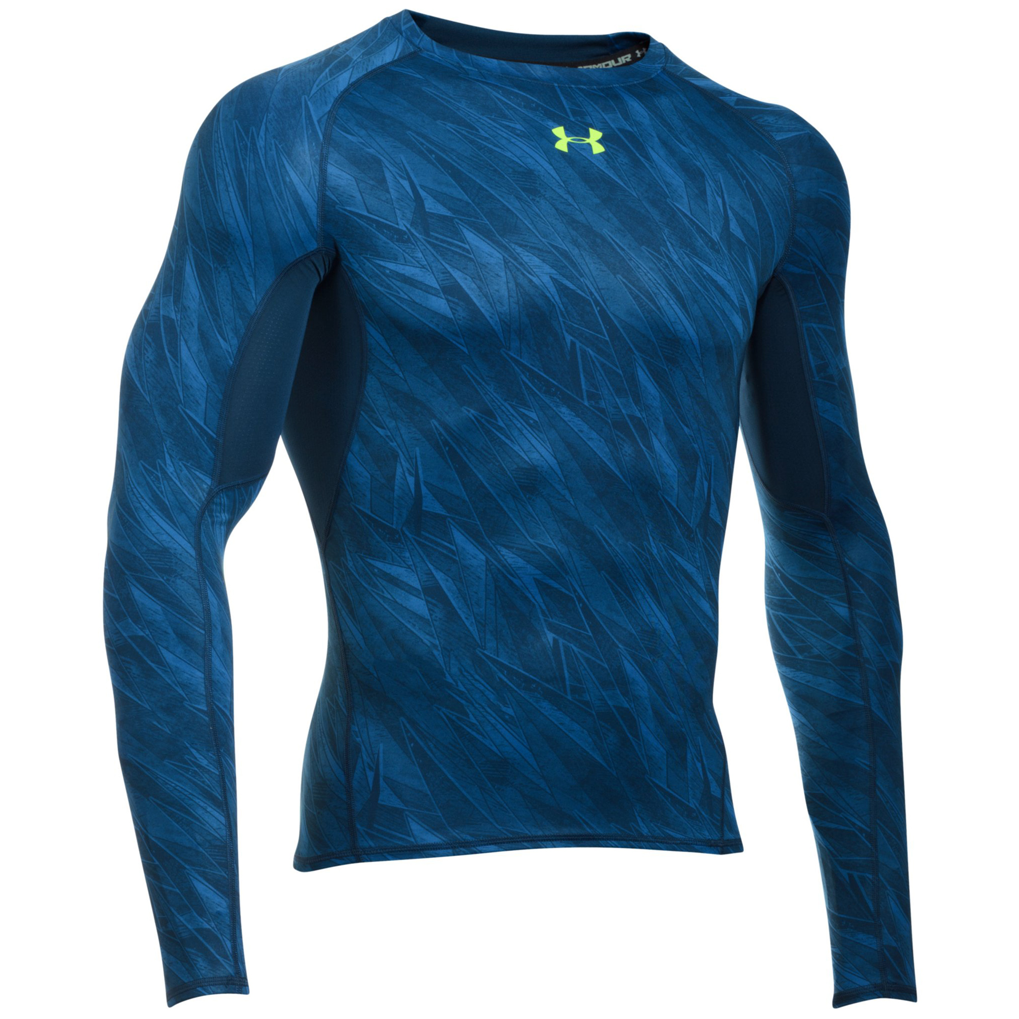 Under armour heatgear armour printed long sleeve for Printed under armour shirts