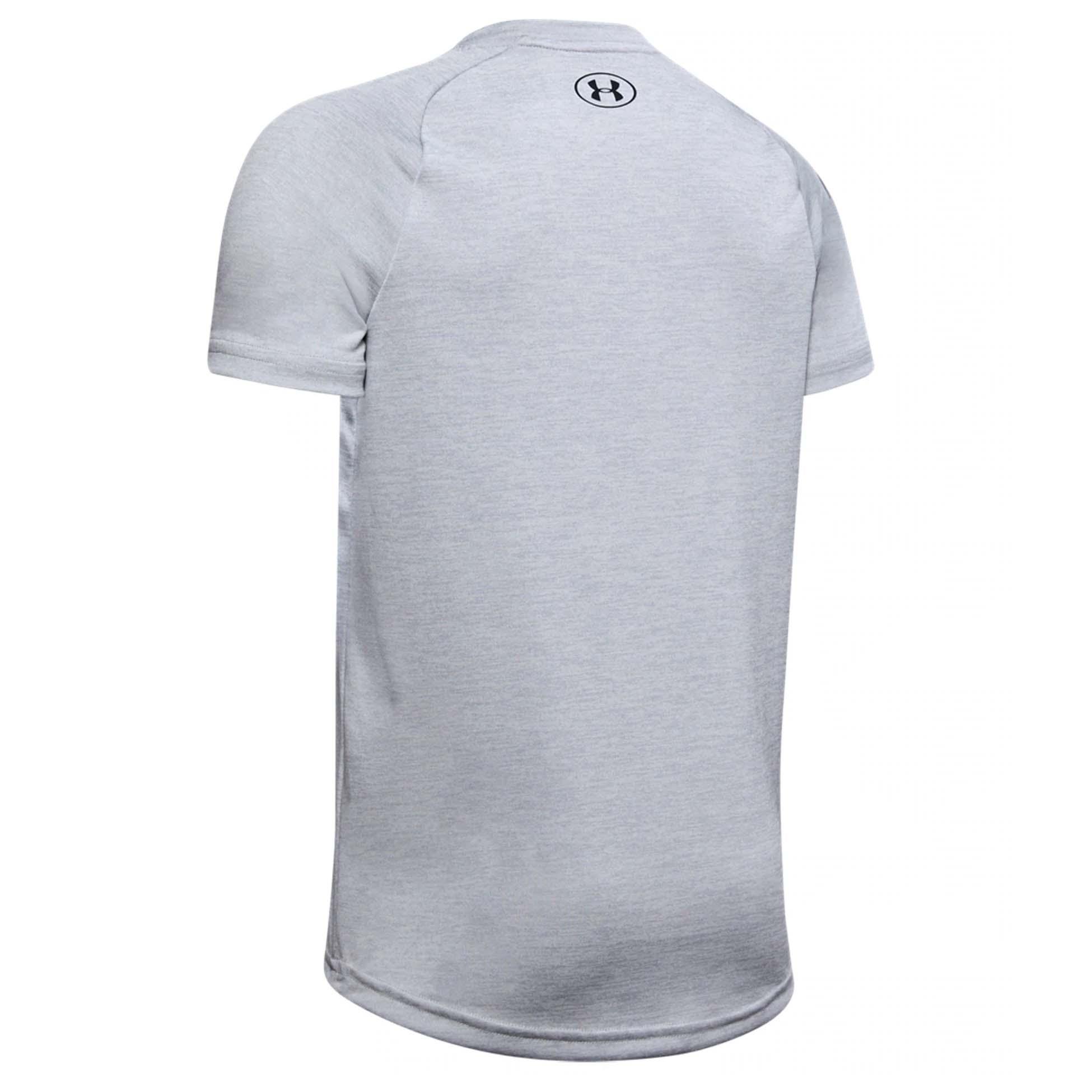 Under Armour Tech 2.0 Kids Fitness Training Short Sleeve T-Shirt Tee Grey