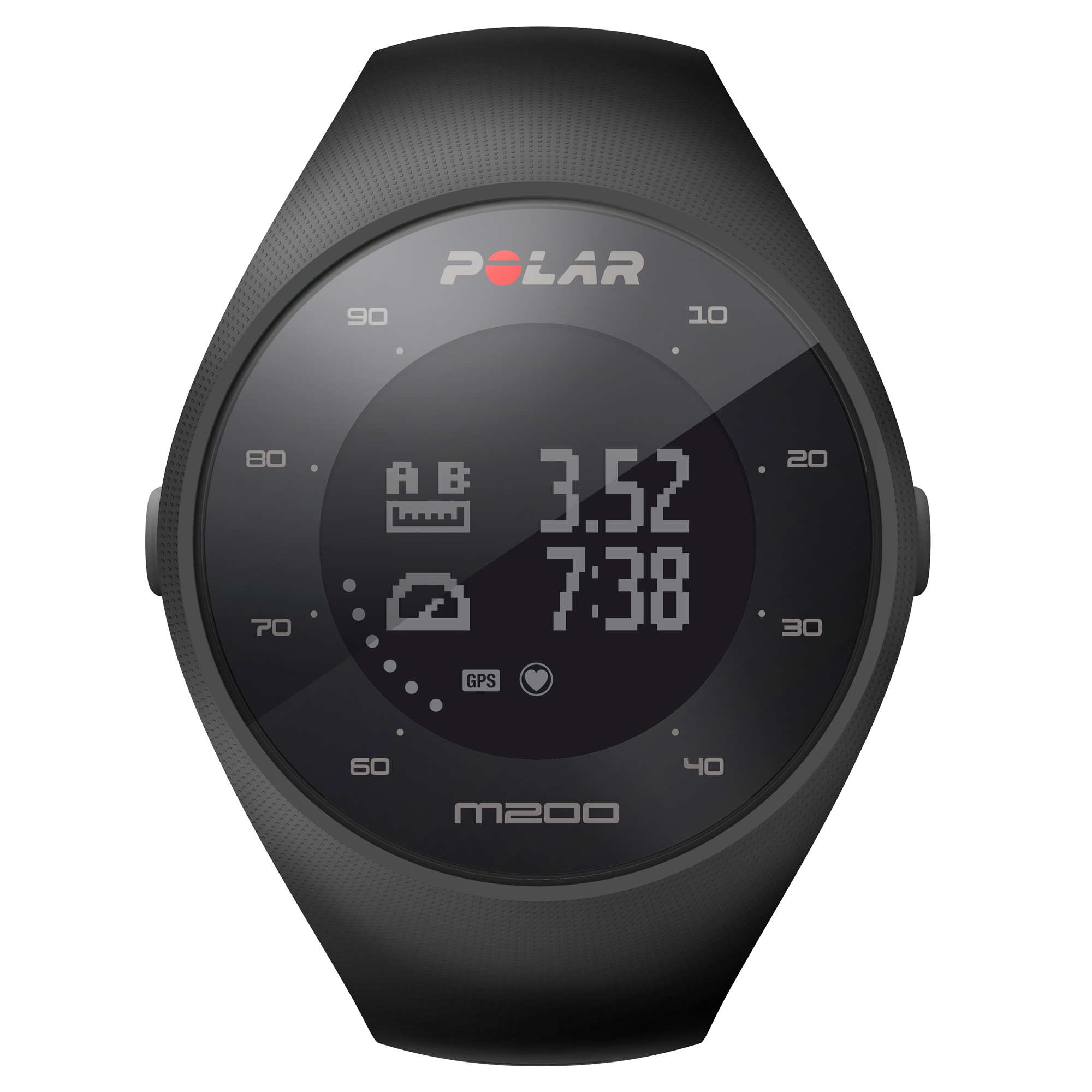 Polar M200 GPS Running Watch W/ Wrist based Heart Rate ...