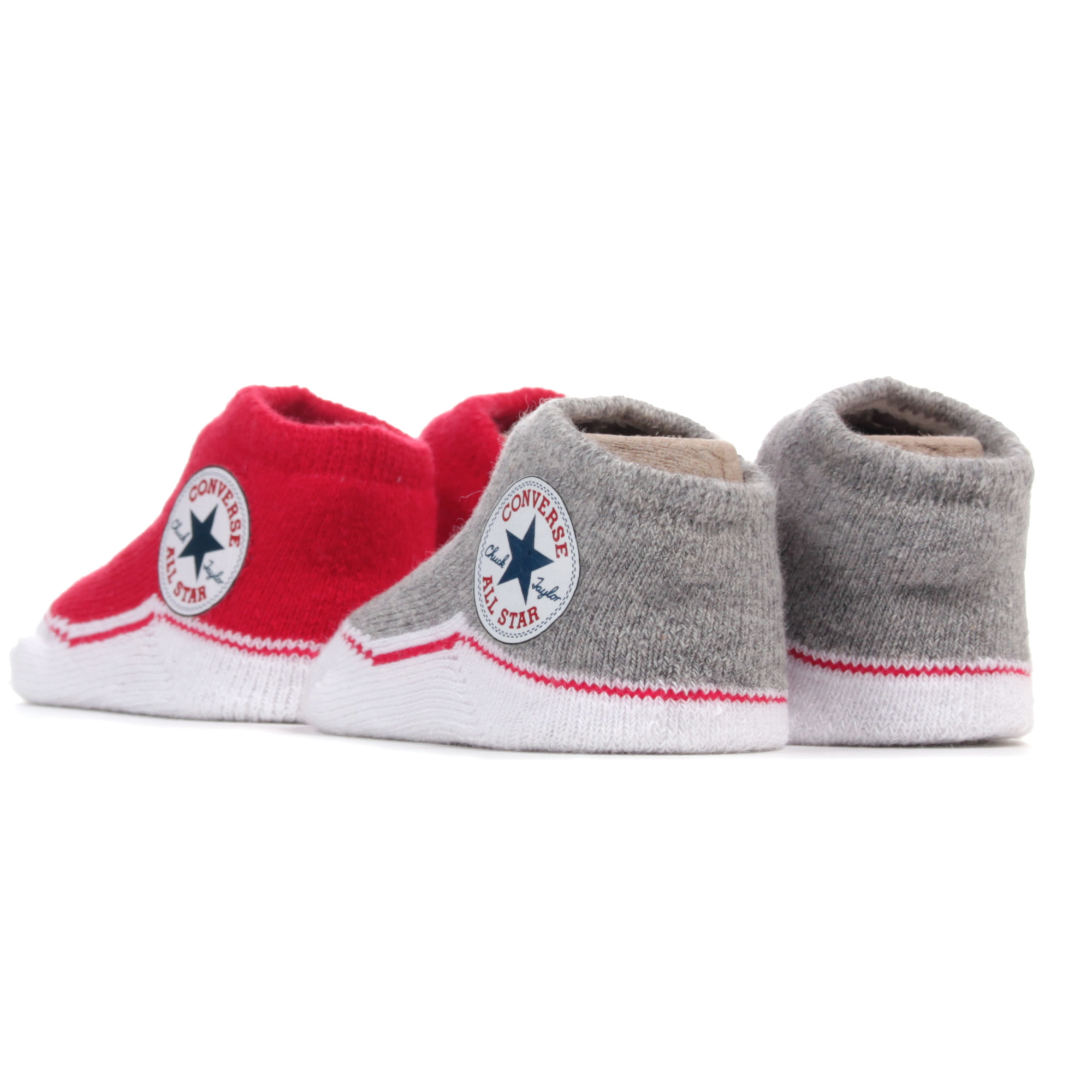CONVERSE Chuck Taylor All Star Baby Sock Booties 2 Pack