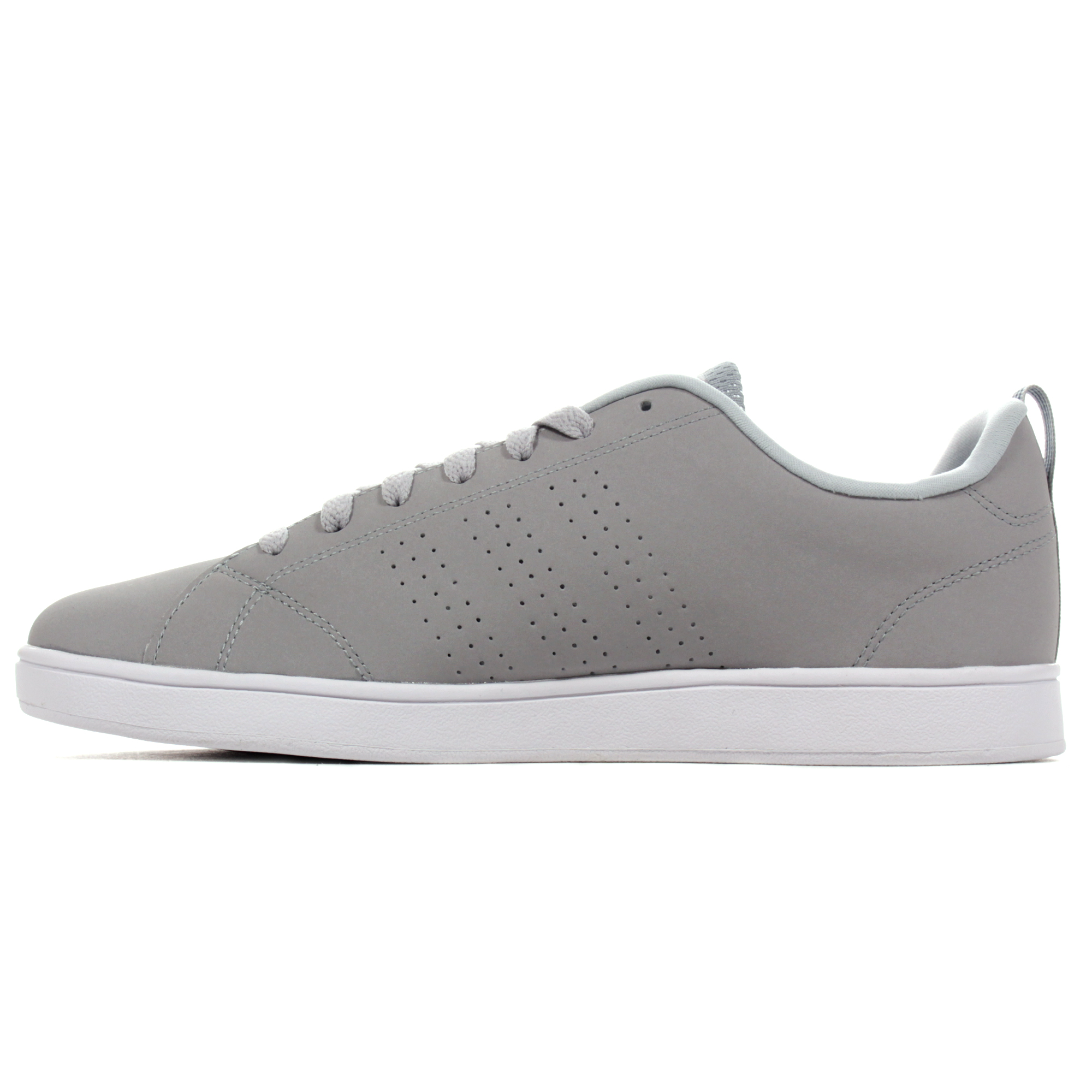 adidas cloudfoam advantage clean men's trainers grey