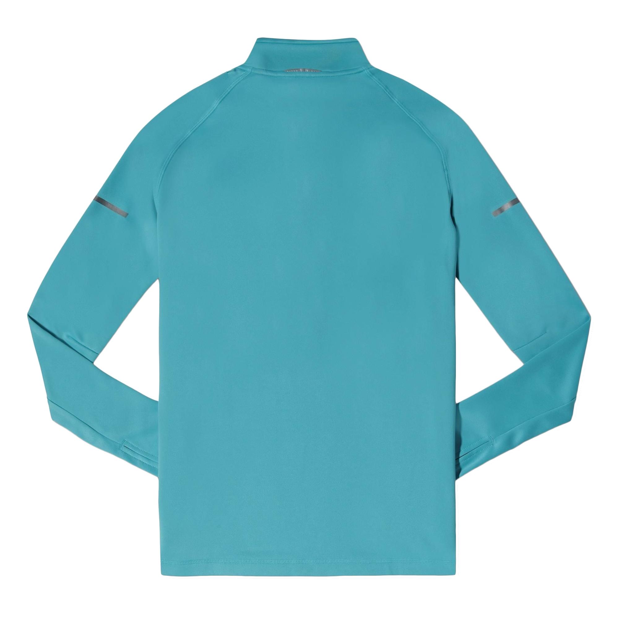 Adidas sequencials climacool 1 2 zip long sleeve running for Long sleeve running shirt womens