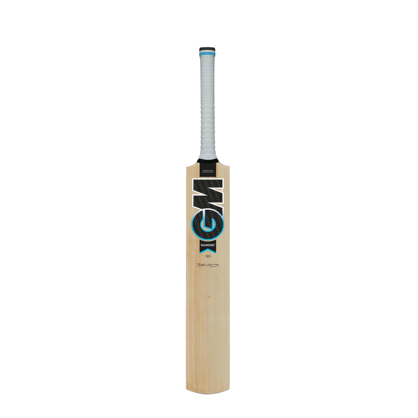 Ben Stokes Cricket Bat Gunn /& Moore Diamond 101 Kashmire Willow