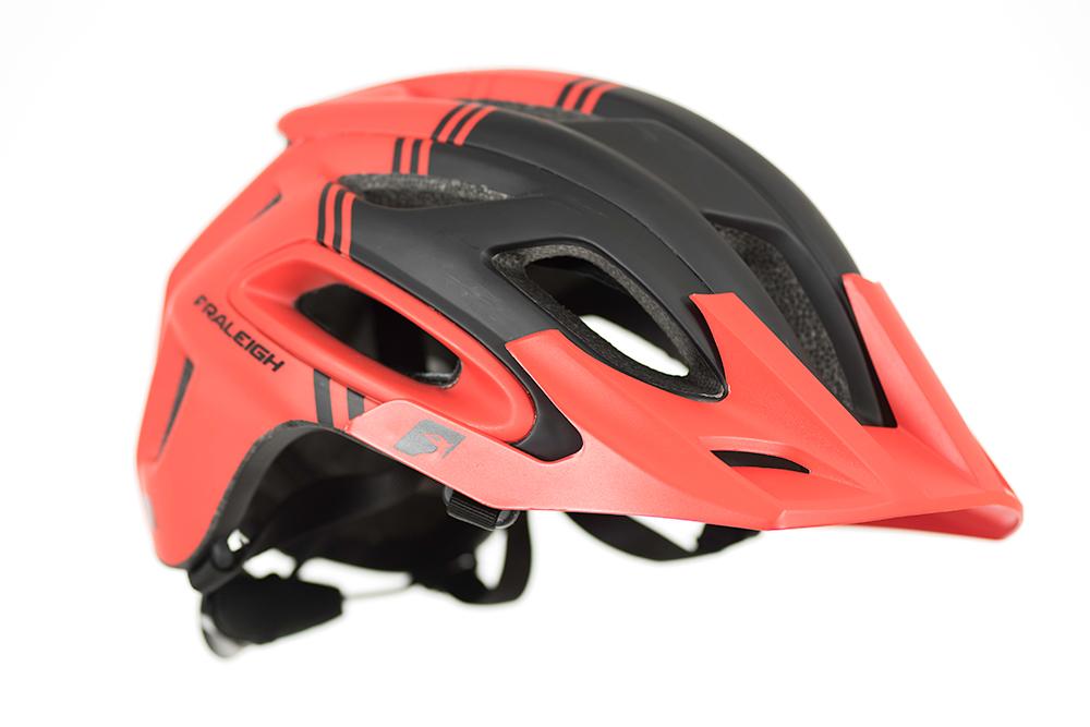Raleigh Magni Red Mountain Bike Casco