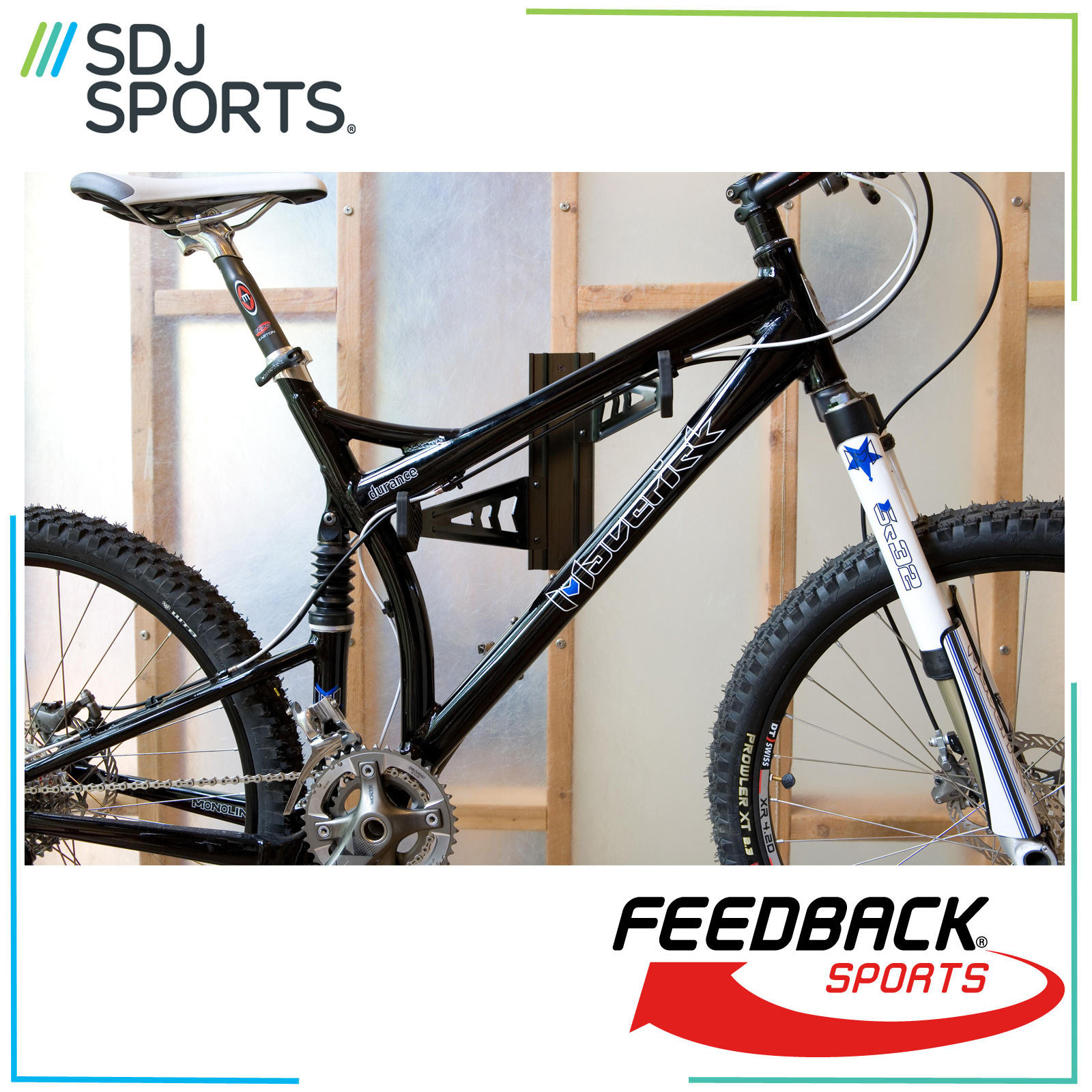 Feedback Sports Velo Cache Wall Bike Rack Bicycle Home