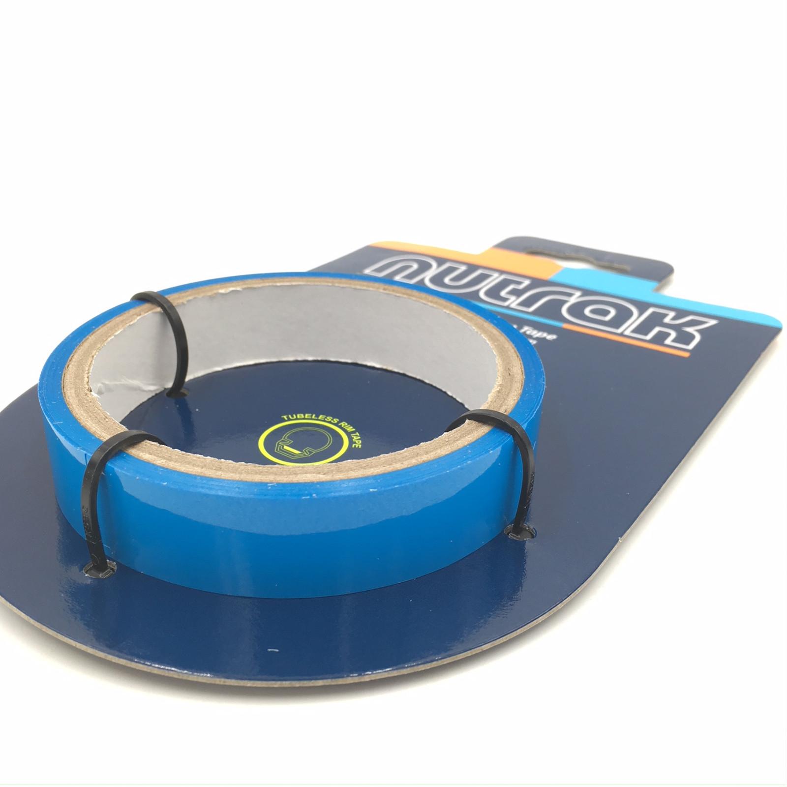Blue 10M Roll Nutrak Tubeless Ready Waterproof Rim Tape