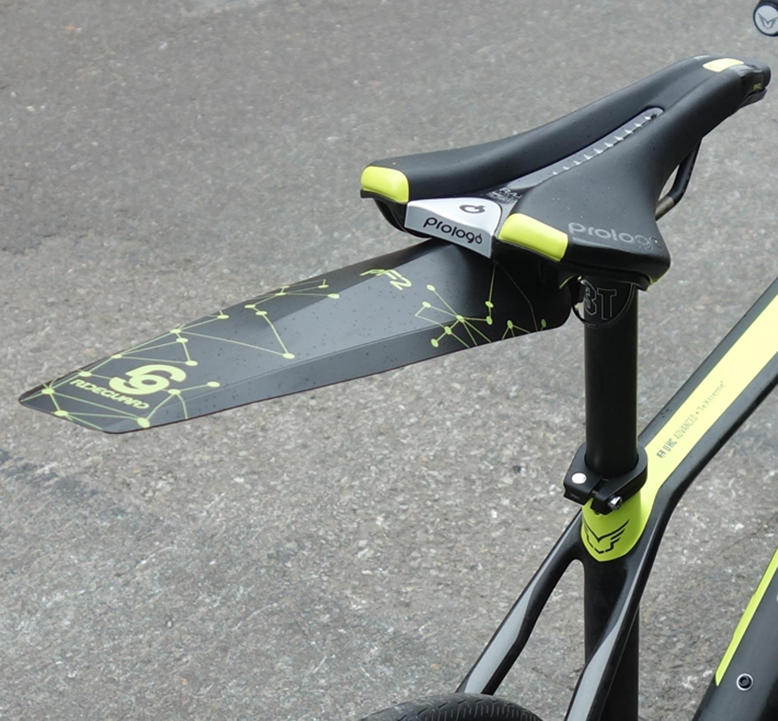 Rideguard Pf2 Mountain Bike Rear Fender Blockbuster Ass Guard
