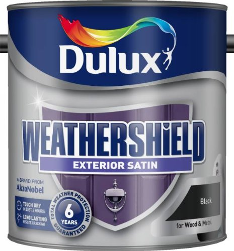 Dulux Retail Weathershield Exterior Satin Paint All Colours And Sizes Ebay