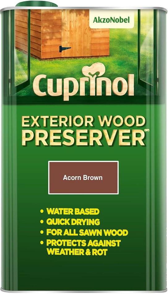 Cuprinol Exterior Wood Preserver All Sizes And Colours Ebay